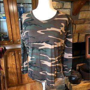 Game winner Ladies XL long sleeve camouflage shirt